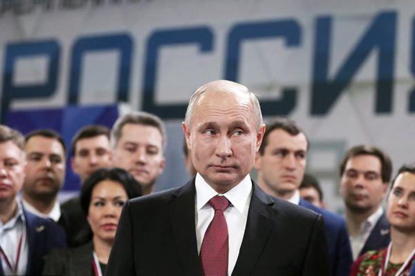 普京宣布总统竞选纲领:恢复世界主导地位