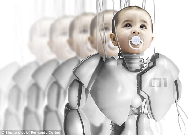 """人和机器人将生出小宝宝 创造新""""混血儿"""""""