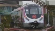 恒河水捣的鬼?印度自主研发无人列车撞穿墙