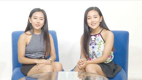 澳华裔双胞胎姐妹高考只差0.1分:喜欢数学想当会计