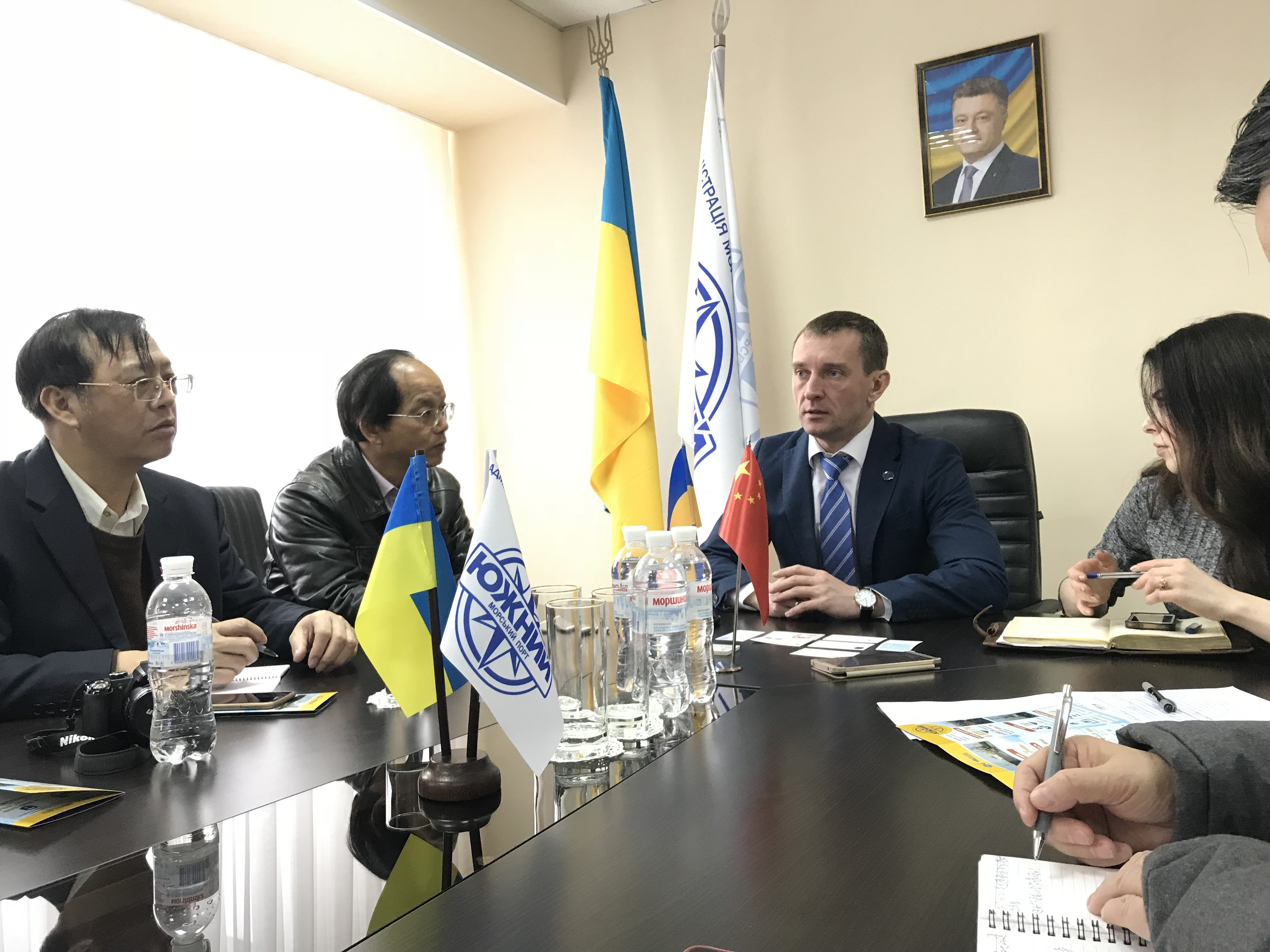 """乌克兰官员:乌方希望在""""一带一路""""框架下加强与中企合作"""