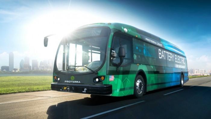 洛杉矶将在2019年投放25辆Proterra电动巴士