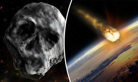 骷髅头小行星再度返回地球 国外网友担心引发灾难