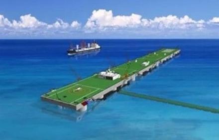中国神秘海上方案曝光 可起降运20 堪比5艘航母