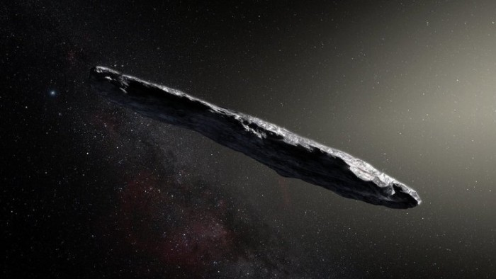 """""""外星文明探测器""""小行星的最新理论:忽视地球"""