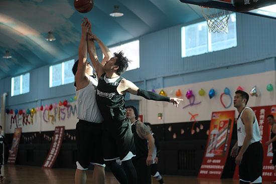 2017城市传奇•首都新闻媒体篮球联赛鸣哨