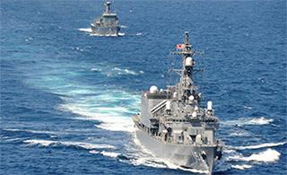 """日本军舰访问斯里兰卡与当地人搞""""亲善"""""""