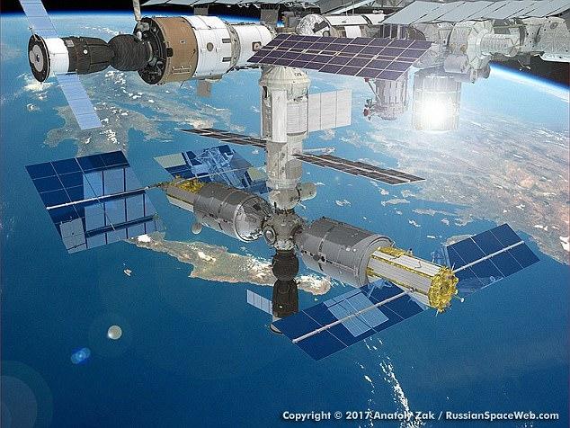 俄拟在太空站建豪华酒店 提供太空漫步项目