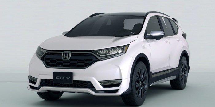 本田新版CR-V概念车预告发布 将亮相2018东京改装展