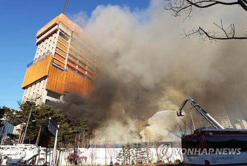 本月第三次重大事故!韩京畿道发生火灾 或致1人死亡13人受伤