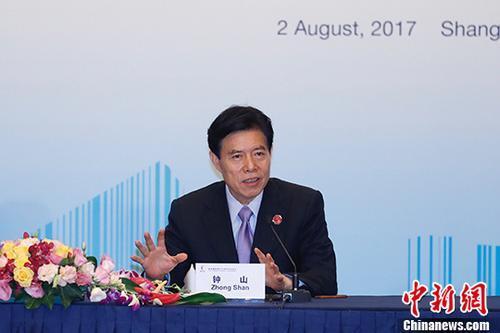 商务部部长:中国2035年前将基本建成经贸强国
