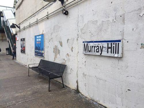 纽约华埠地铁站再现疑似辱华涂鸦 亚裔示威表达抗议
