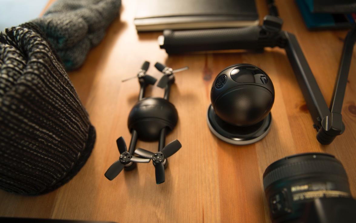 这个能变形的球,既是无人机也是运动相机