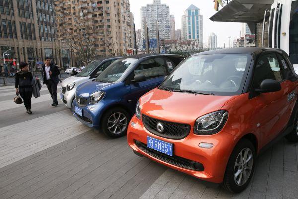 日媒:中国1.5亿人有照无车 共享汽车有商机