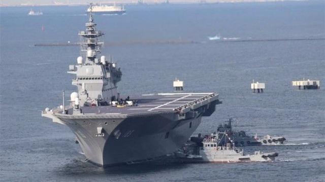 日本要把直升机护卫舰变航母 应对中国海洋活动