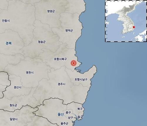 韩国浦项余震不断 圣诞节当天发生第72次余震