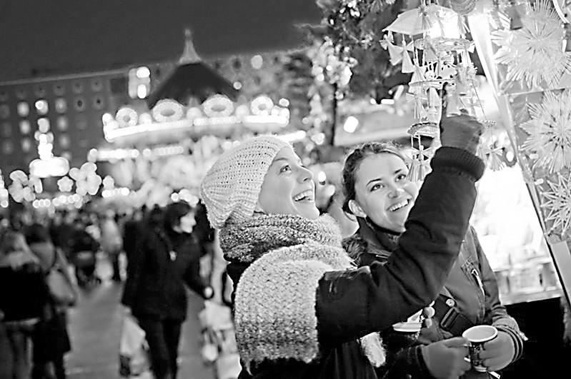德国逛圣诞集市就像赶庙会