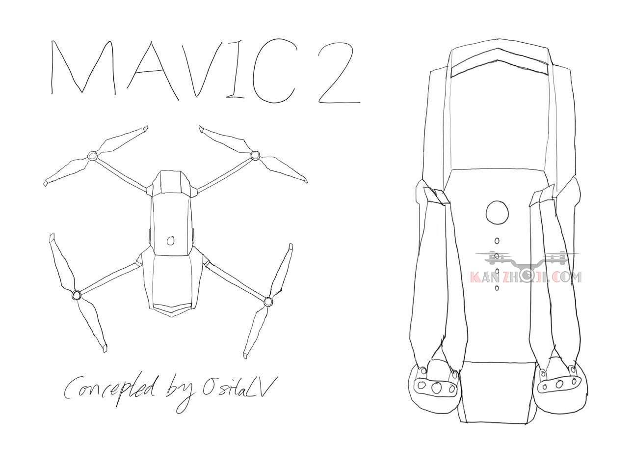 现在是预言时间!大疆Mavic Pro 2会是什么样子 ?