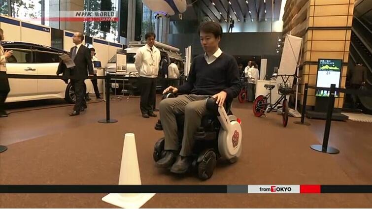 迎奥运新技术展在东京举行 日汉互译装置等参展