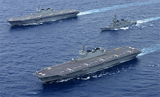 日本这款军舰有可能升级为航母?