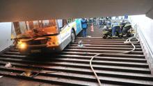 4死15伤!莫斯科公交车失控冲进地铁站 行人来不及躲避惨遭碾压26