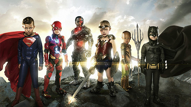 暖心!美摄影师为患病儿童拍超级英雄照
