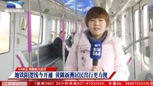 全程55分钟!记者体验武汉跑得最快的地铁:21号线阳逻线