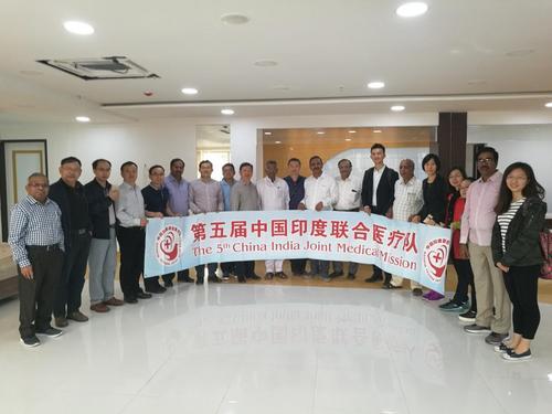 媒体:中国医疗队访问印度 深入农村开展义诊活动