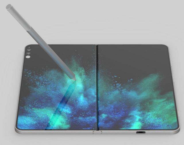 为什么微软想生产可折叠手机?看看这份专利