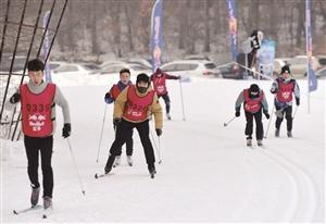 全国大学生越野滑雪赛举行 助推冰雪运动普及