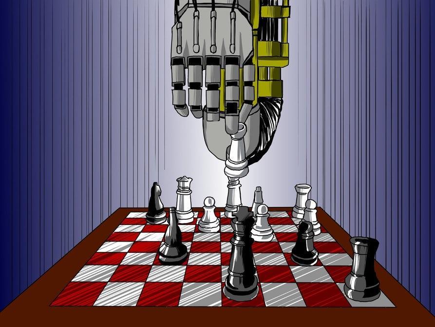 2017年 AI在人类设计的所有游戏中都打败了人类