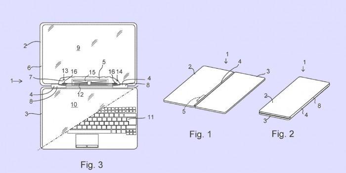 微软新专利:所研发的折叠手机具备触觉反馈引擎