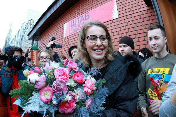 俄美女主持成立总统竞选办公室 自信满满