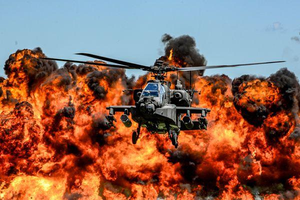 美陆军发布2017年度图片 场景震撼似大片
