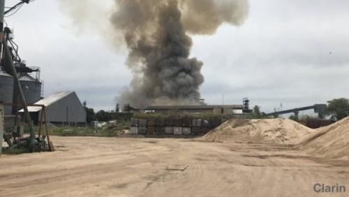 外媒:阿根廷一中国工厂发生爆炸 造成1死17伤