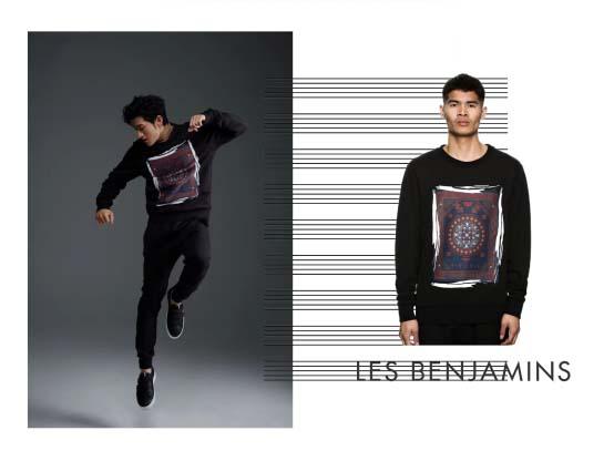 LES BENJAMINS | 当红偶像亲身演绎,让你时尚更有young!