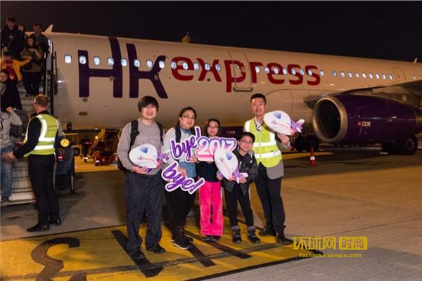 香港快运航空于2017年载客量稳步上升 新一年致力提升飞行体验