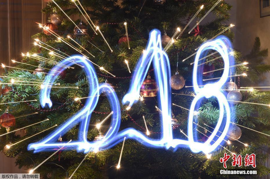 节日看点:世界各地喜迎2018年新年(组图)