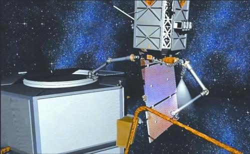 美研发航天机器人修理卫星 英媒:或从事间谍活动