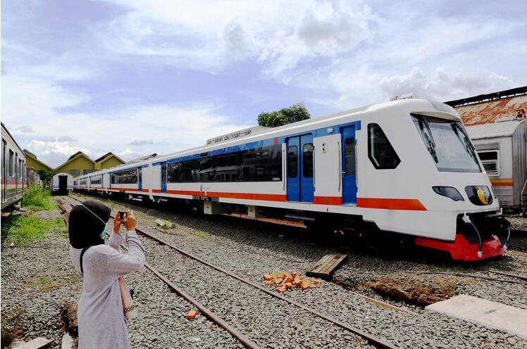 印尼将启用首都至机场铁路专线以舒缓阻塞