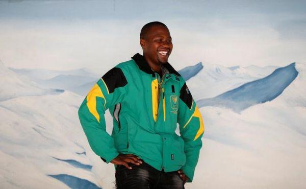 四年前与索契擦肩而过 南非黑人滑雪第一人期望平昌圆梦