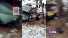 公路发生车祸 五人不幸遇难 怎么撞的?
