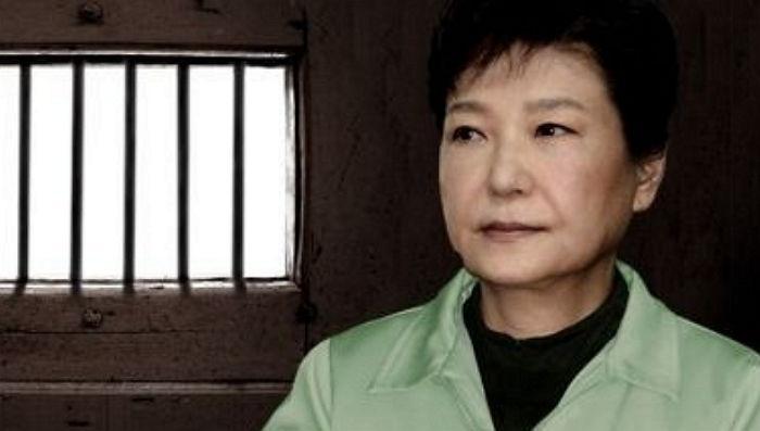 朴槿惠狱中过元旦:被安排看《初恋五十次》 午餐吃半只鸡