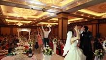 夫妻婚礼彩排时发生口角 结婚前一晚新郎被打住院