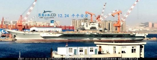 重庆时时彩开户号码:国产航母跨年即将出海测试