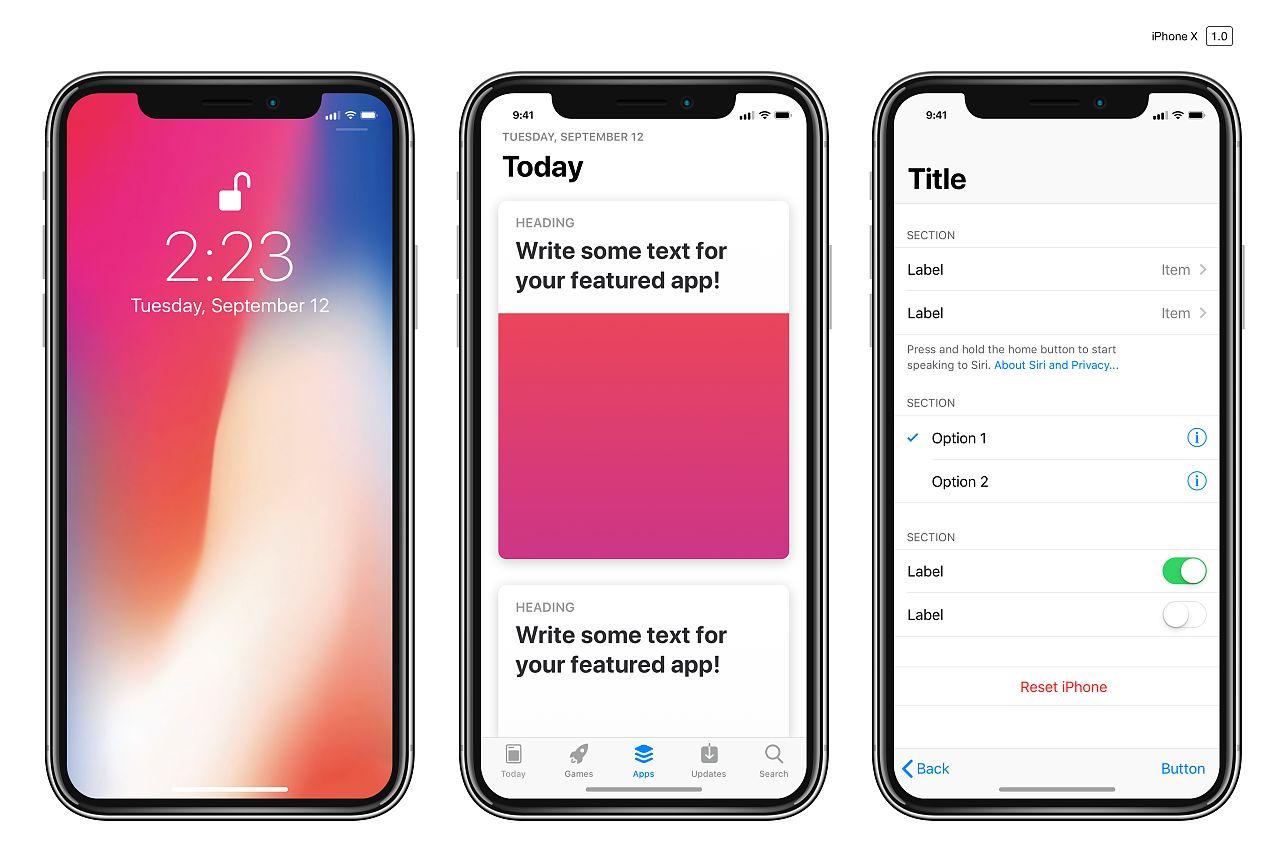 国产机不能再借鉴了:iPhone X拿下刘海屏专利