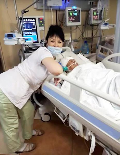 俄护士在濒死病人床前自拍并讥笑病人引众怒