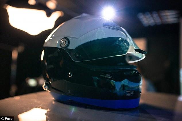 更安全!福特新款头盔助司机集中精神安全驾驶