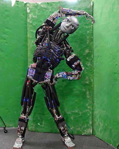设计精密!日本造出重现人类肌肉骨骼的机器人