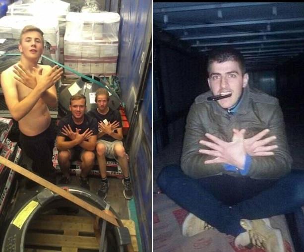 阿尔巴尼亚男子组织偷渡客潜入英国 脸书晒偷渡照